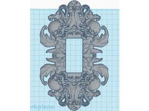 Decora skull plate