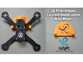 Quadcopter Wall Mount