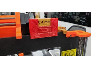 Prusa Nozzle Size Label