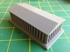 Parthenon With Thicker Base