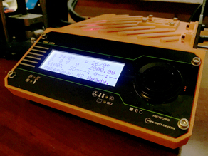 Viki LCD v1.0 Makergear M2 Case