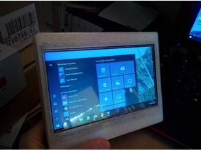 """KUMAN 7"""" LCD enclosure"""