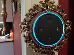 Baroque Echo Dot Wall Mount