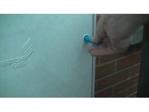 Meter Cupboard Key Triangle Long