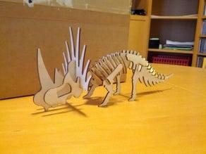 Styracosaurus Puzzle Model
