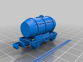 N scale small tanker.