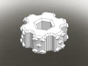 Build Plate Adjustment knob
