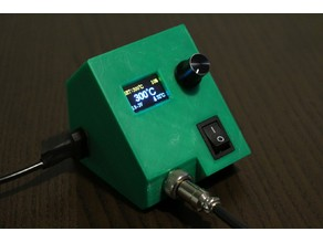 Tiny e-Lab T12 OLED soldering station