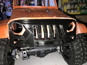 JEEP Rubicon for TRX4 grill armor