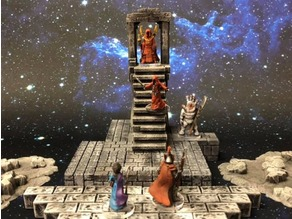 ScatterBlocks: Ruined Portal (28mm/32mm scale)