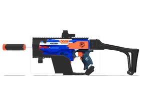 Nerf Stryfe Kriss Vector Kit