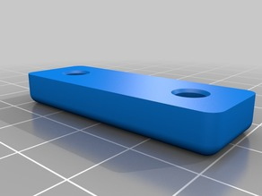 Plate for Plastic Hinges