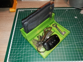 Key and Wallet Holder/Organizer