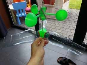 Plastic Bottle Windmill