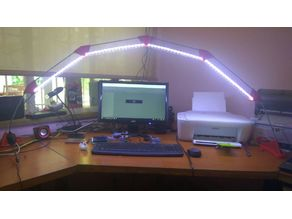 Simplified LED bridge lamp