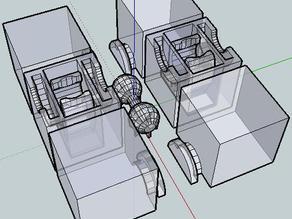 FULLY MakerBottable 3x2x1 Rubik\'s Cube
