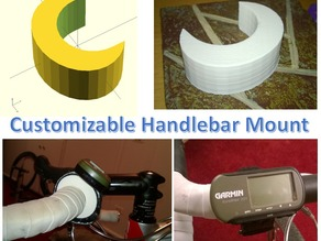 Customizable Handlebar Mount