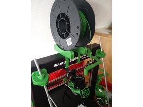 TUSH - The Ultimate Spool Holder - with clips for Wanho Duplicator i3 Plus