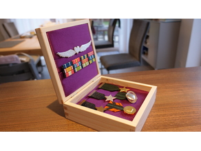 Wing Commander Medal Set
