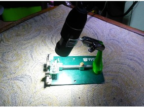 USB Microscope PCB metall holder adapter
