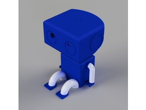 Boxty: Desktop Robot Friend (Pan and Tilt with Pixy, Webcam, and Laser)