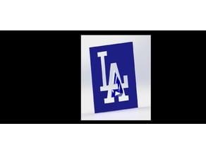 Los Angeles Dodgers  Stencil