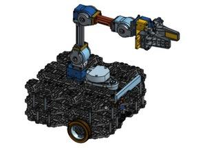 ROBOTIS TurtleBot Waffle with OpenManipulator Chain