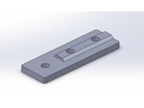 2020 V-slot Straight Plate