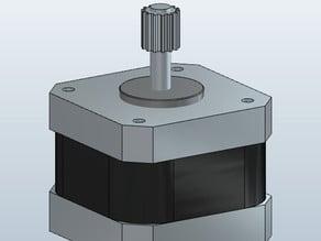 Stepper motor, STP-43D1034 - NEMA17