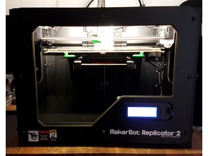 Makerbot Replicator 2/2X Ramps Conversion + Heated Bed + E3D