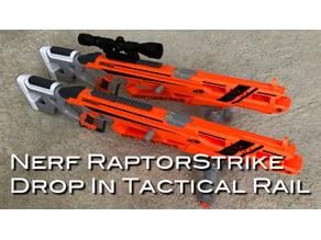 Nerf RaptorStrike Picatinny and N-Strike Rails