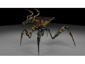 warrior bug starship troopers