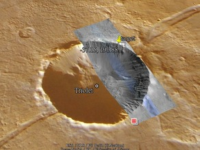 Triolet Crater on Mars - May Be Formed by Boiling Water