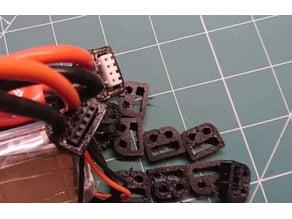 Battery balance plug clip fixer 2 in 1 (3S and 4S LiPo)
