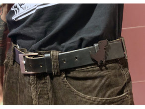 Google Chrome t-rex belt loop