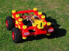 """Neurobot 2"" - Arduino Educational Robotics Kit, Autonomous / RC controlled"