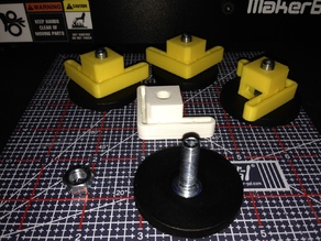 Makerbot Replicator 2 and 2X Adjustable Feet