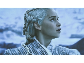 Daenerys Game Of Thrones Litophane