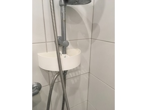 Shower shampoo shelve