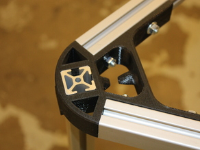 25mm Aluminum Extrusion Delta Printer Brackets