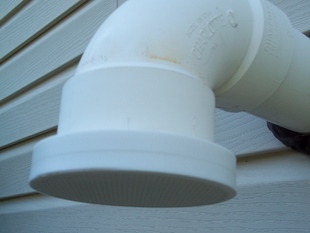 Vent or drain cap with integral screen