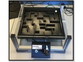 Joystick Maze labyrinth game. Arduino controlled