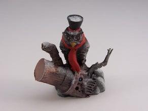 Steampunk Owl Ornament