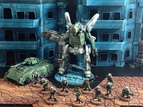 Hyperion Heavy Assault Mech (15mm scale)