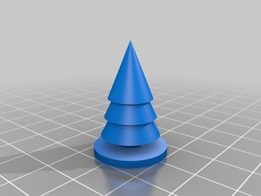Simple Christmas Tree - (openscad child initiation)