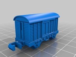 N Scale freight van.