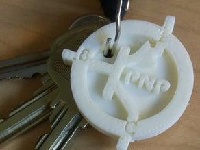 Transistor Key Chain