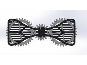 Gear bow tie