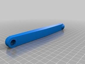work in progress part 3>> Vauxhall Corsa clutch linkage replacement ..re design