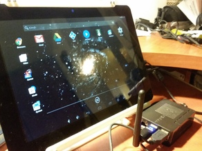 LCD touchscreen stand
